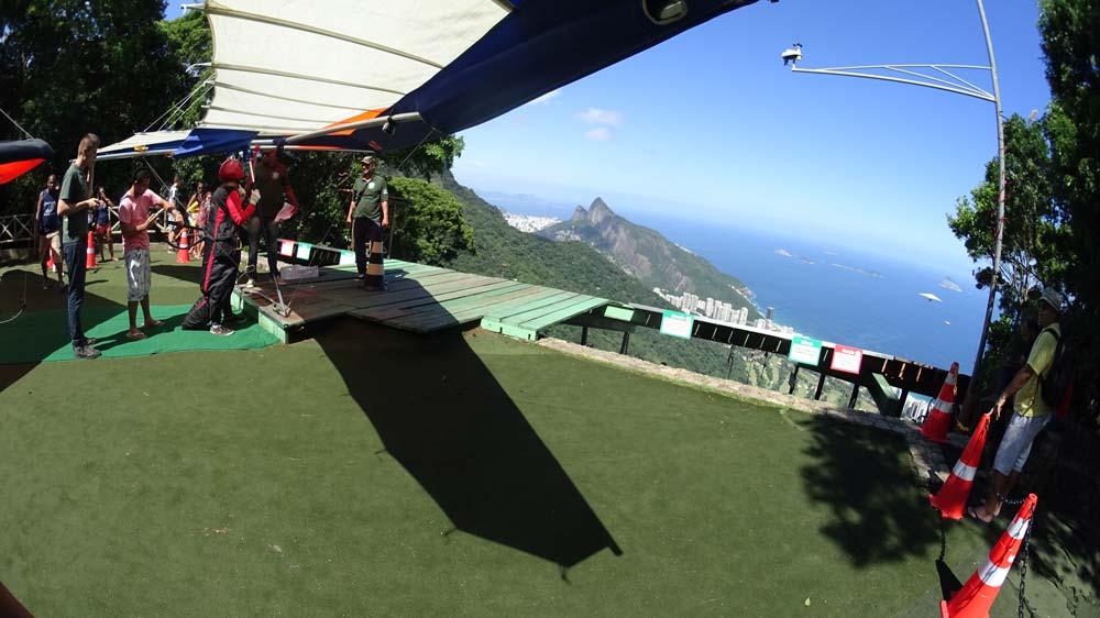 Rampa de decolagem para Asa Delta - Pedra Bonita - CSCVL